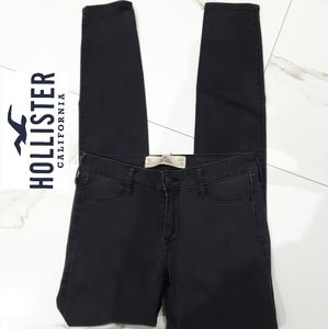 HOLLISTER JEGGING- CHARCOAL SIZE 24- LIKE NEW- RARE